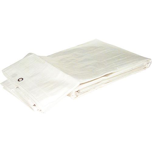 tbs gewebeplane aus hdpe b ndchen gewebe 160 g qm mit rand sen 3 x 4 m farbe wei. Black Bedroom Furniture Sets. Home Design Ideas