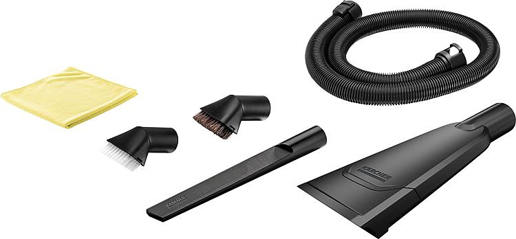 tbs autoreinigungsset k rcher 7 teilig passend f r nass und trockensauger der serie wd2 wd6. Black Bedroom Furniture Sets. Home Design Ideas