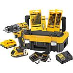 Cordless drill/screwdriver set DeWalt DCK791D2T 18.0 V with battery
