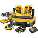 Cordless impact drill set DeWalt DCK 796 D2T18 V, with 2 x 2,0 Ah Li-ion batteries