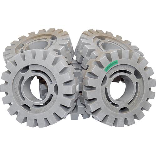 Film eraser wheel, ø 105 mm, width: 30 mm, for pneumatic multi-grinder 82 008 15 Standard 2