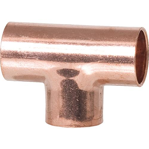 Copper soldering fitting 