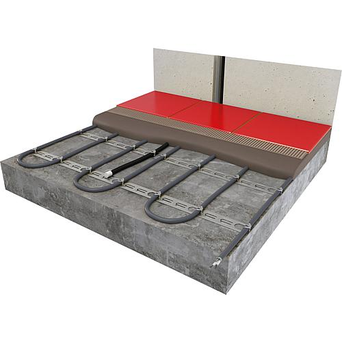 tbs fussbodenheizung kabel f r beton und estrich mhc17. Black Bedroom Furniture Sets. Home Design Ideas