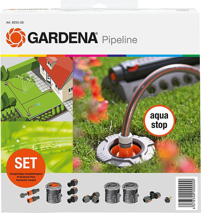 tbs gardena start set f r garten pipeline. Black Bedroom Furniture Sets. Home Design Ideas