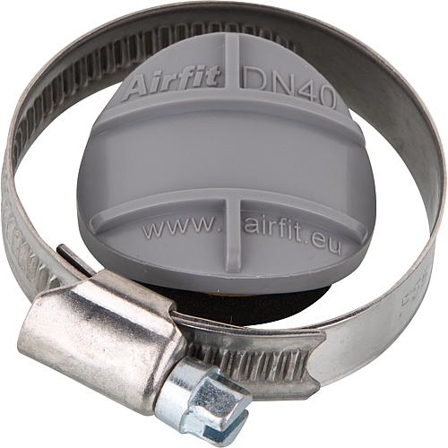 Repair plugs with stainless steel hose clamps Standard 1