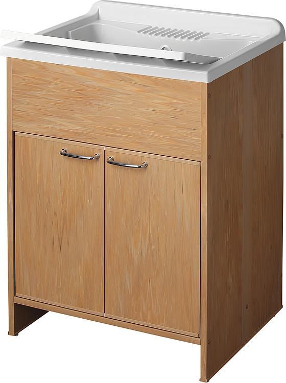 tbs kunststoff ausgussbecken mit unterschrank und t ren. Black Bedroom Furniture Sets. Home Design Ideas